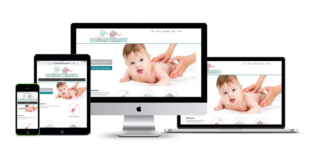 Babymassage maas en waal